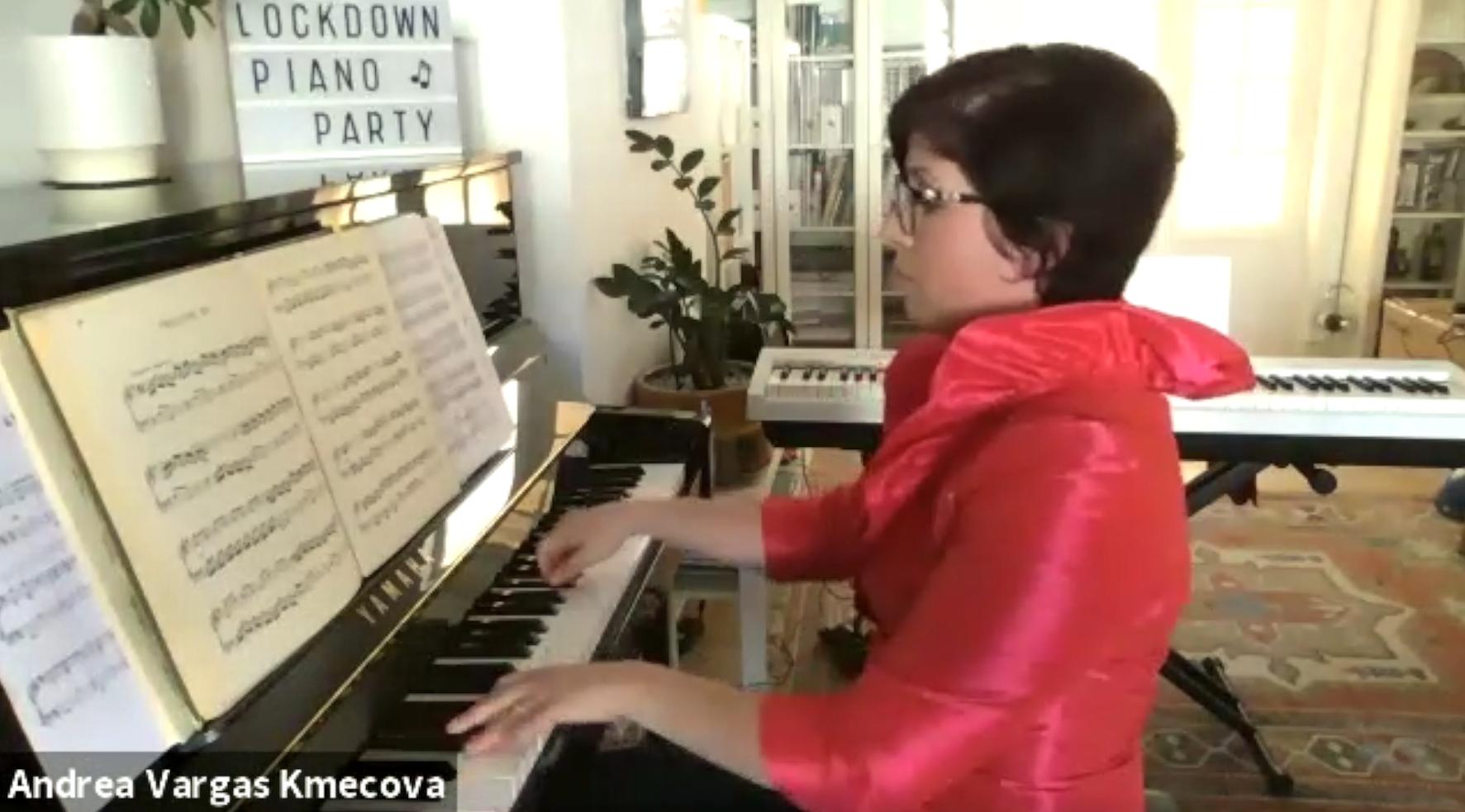 Lockdown Piano Party 31-May-2020